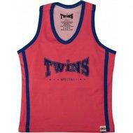 Twins dames topje Pink Blue met sport bh TSB-1 by Twins