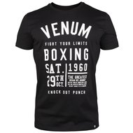 Venum KNOCK-OUT T Shirt Zwart