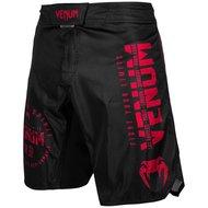 Venum SIGNATURE Fight Shorts Zwart Rood Venum MMA Kleding
