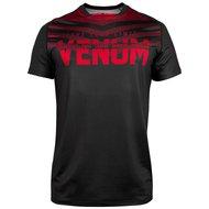 Venum SIGNATURE Dry Tech T-shirt Zwart Rood