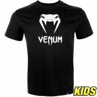 Venum Vechtsport Kleding Classic T Shirt Zwart Kids