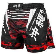 Venum Fight Shorts OKINAWA 2.0 Zwart Wit Rood