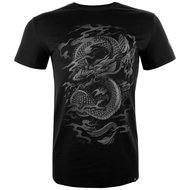 Venum Shirt Dragon's Flight Black on Black Fightstore Nederland