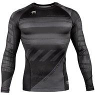 Venum Amrap Rash Guard Zwart Grijs Compressie Shirts Venum