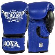 Joya POWER MAX Kickboks Handschoenen Blauw Zwart Leder