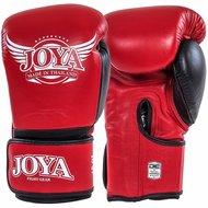 Joya POWER MAX Kickboks Handschoenen Rood Zwart Leder